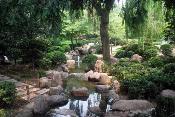 Peaceful park by Peter Griffin