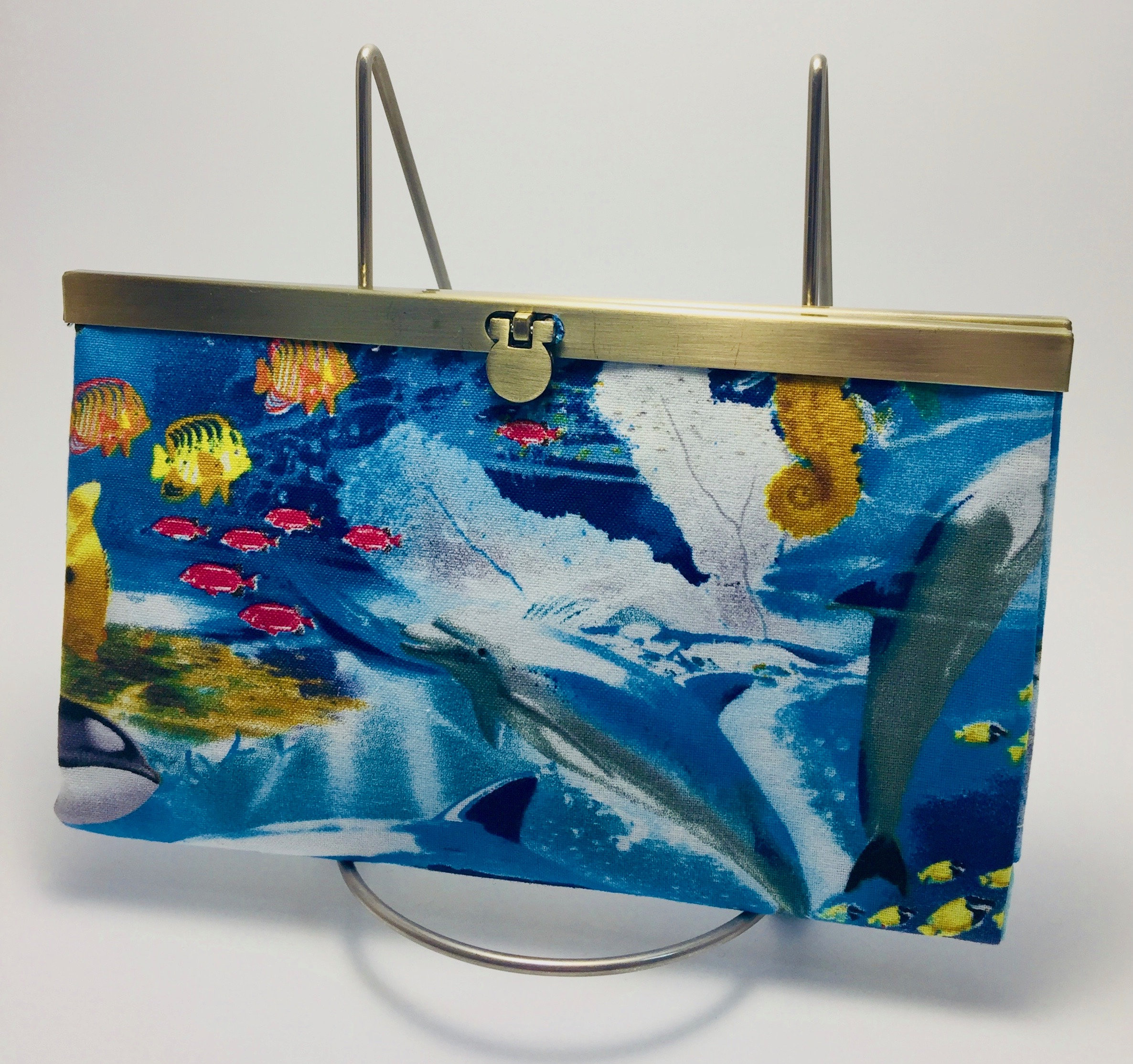 Wallet Beach Decor Clutch Nautical Card Holder Coin Purse handmade ...