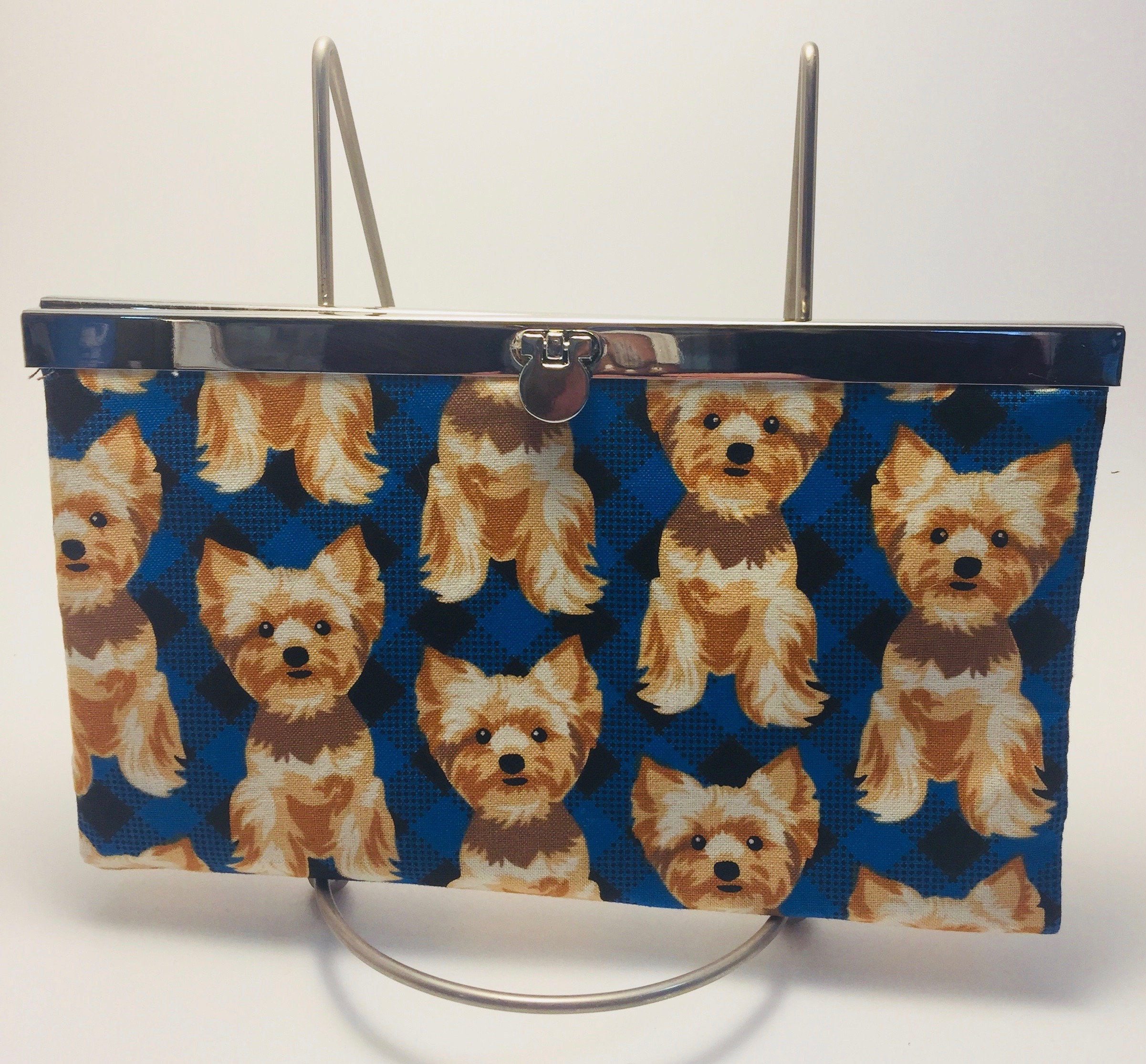 Wallet Dog lover gift Clutch Card Holder Purse handmade for her ...