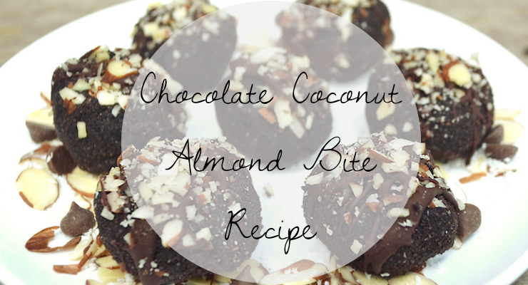 Chocolate Coconut Almond Bites