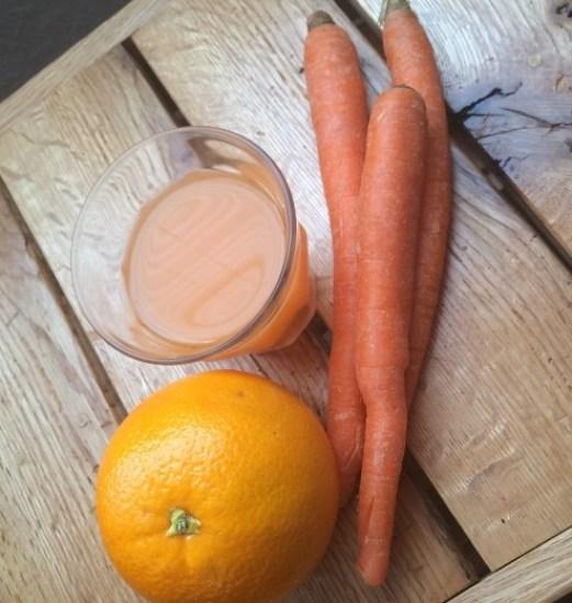 orange carrot ginger juice 2