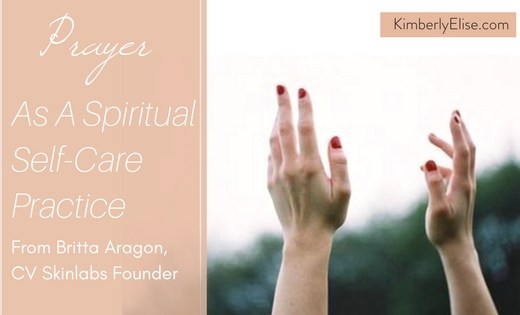 Prayer as a self-care practice