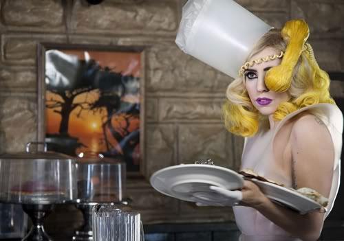 Lady Gaga telephone hair
