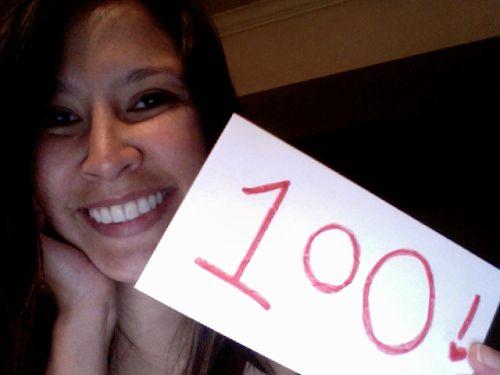 kimberlyloc's 100th blog post