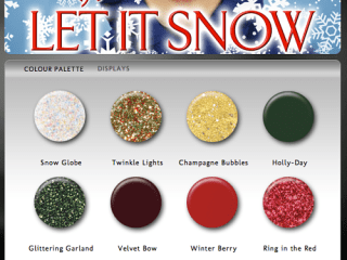 china glaze holiday 2011 let it snow nail polish