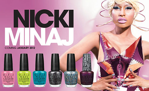 nicki minaj OPI pink friday