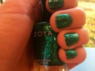zoya rina holiday 2011 nail polish collection