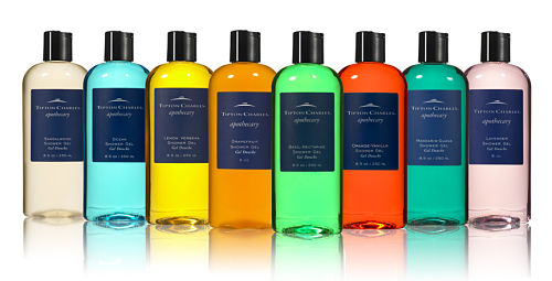 tipton charles apothecary shower gel