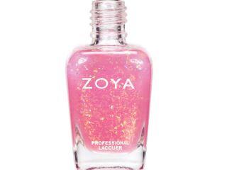 chloe zoya spring 2012 fleck effect nail polish collection