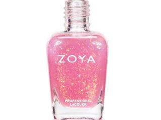chloe zoya spring 2012 fleck effect nail polish collection