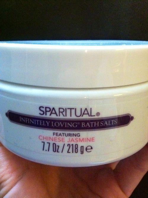 sparitual infinitely loving bath salts