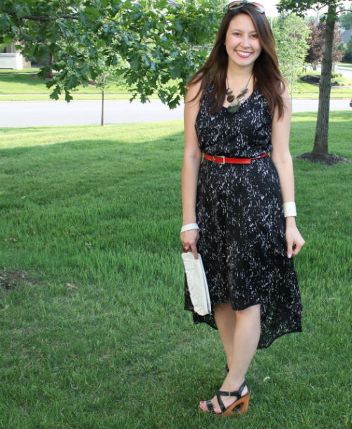 kimberlyloc high low dress the limited