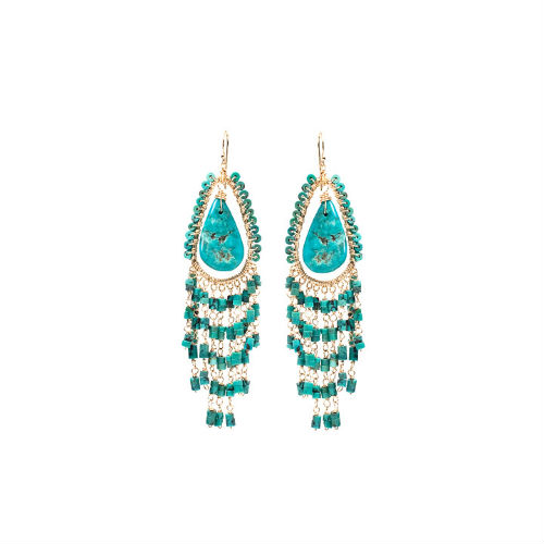 Indigo-Gold Amanda Sterett Jewelry