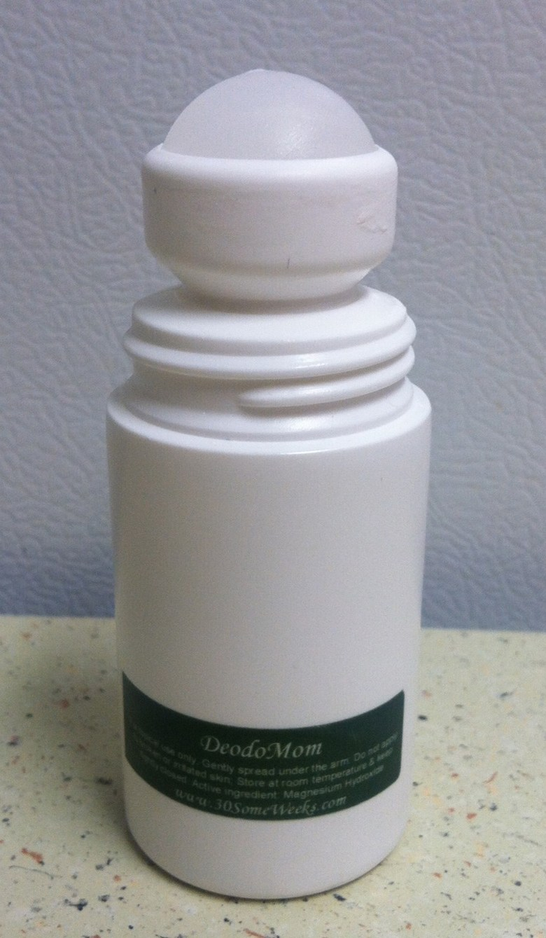 deodomom roll-on natural deodorant from 30someweeks.com