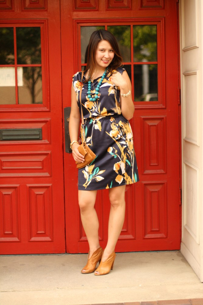floral dress @thelimited @kimberlyloc