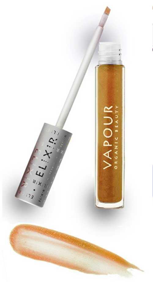 vapour organic beauty elixir plumping lip gloss in coax