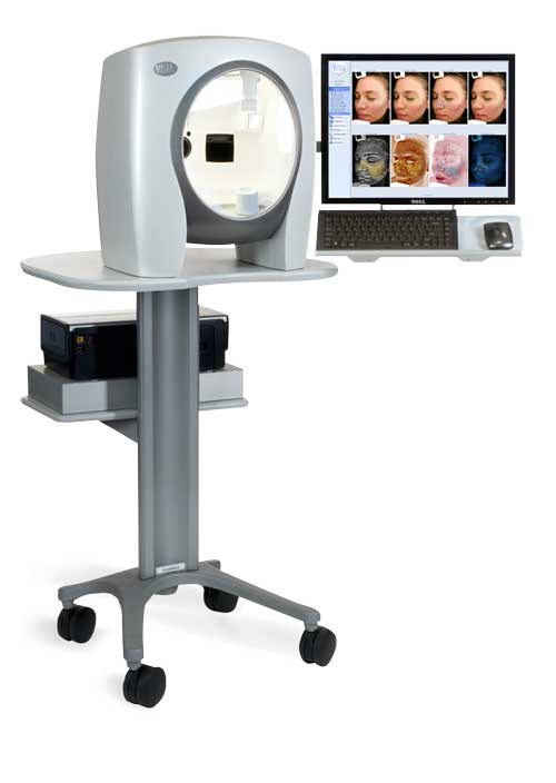 visia complexion analysis machine
