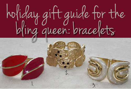 charming charlie holiday gift guide for the bling queen bracelets