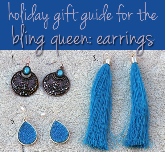 charming charlie holiday gift guide for the bling queen earrings