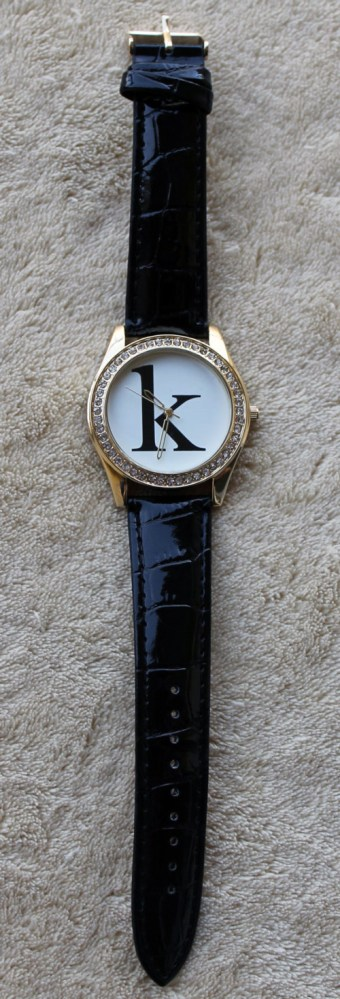charming charlie initial watch