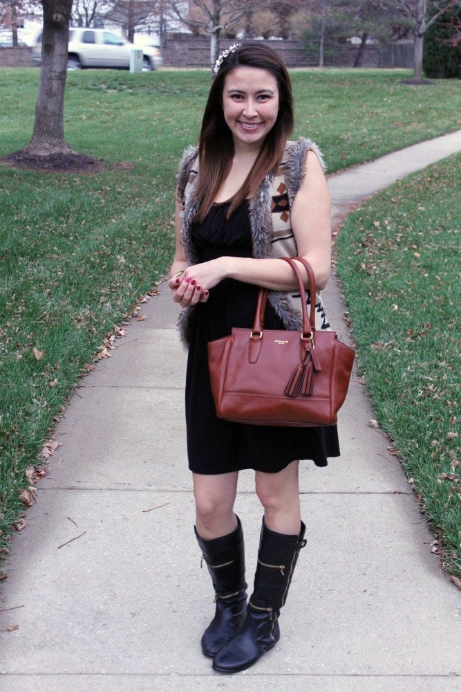 kimberlyloc tribal chic outfit post