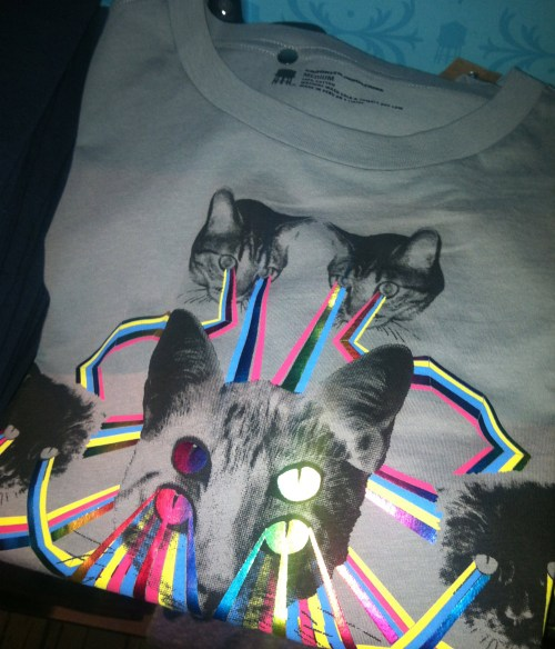 crazy cat shirt brooklyn industries williamsburg brooklyn new york
