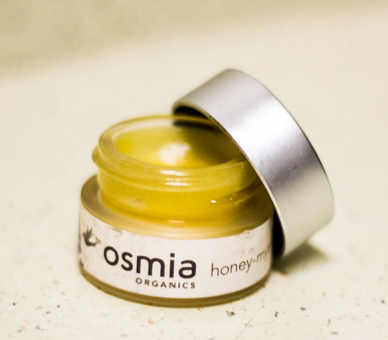 osmia organics honey-myrrh lip repair