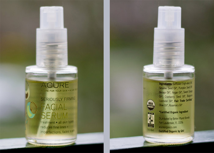 Seriously Firming Facial Serum by acure organics #3