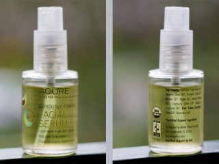 acure organics seriously firming facial serum