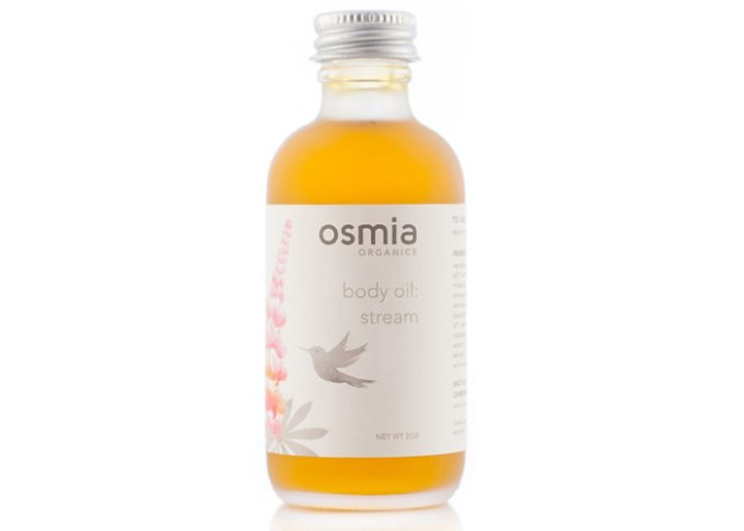 osmia organics stream body oil