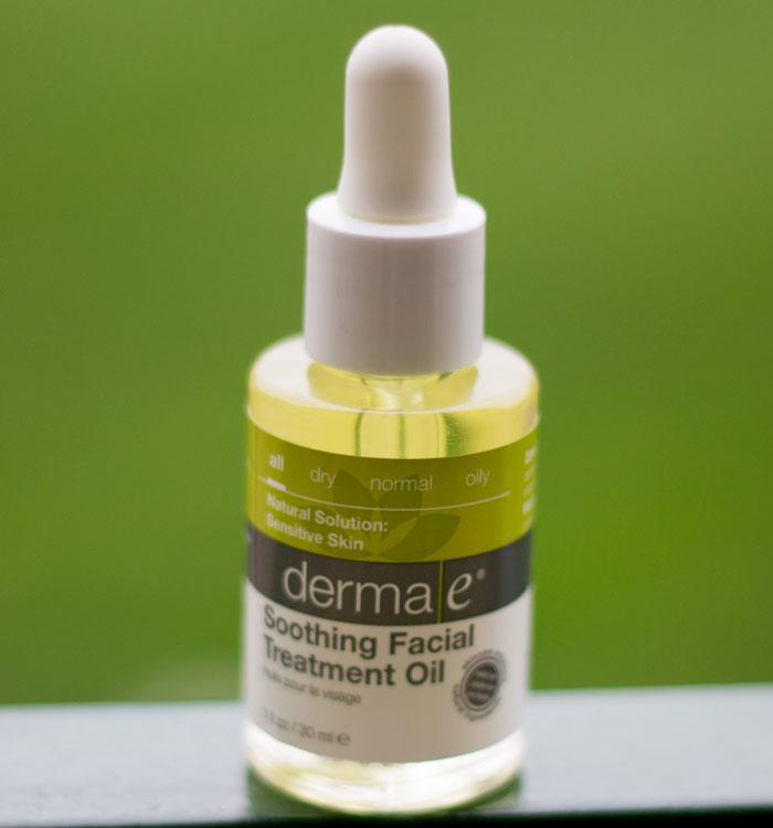 derma e soothing facial treatment oil