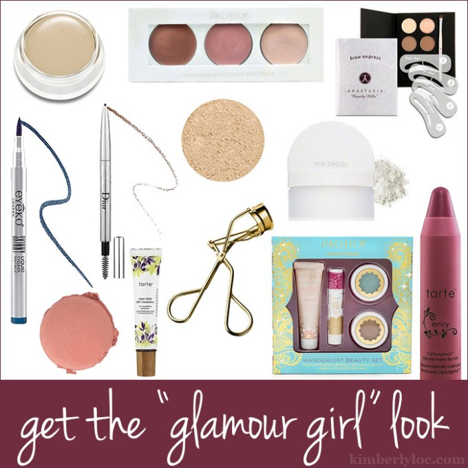 how to get the glamour girl look on kimberlyloc.com