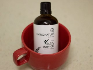 living nature vitality body oil