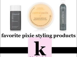 best pixie hair styling products