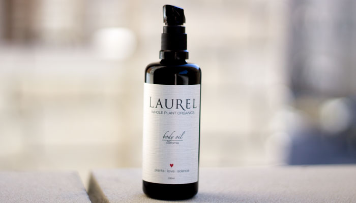 laurel whole plant organics california body oil