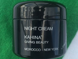kahina giving beauty night cream