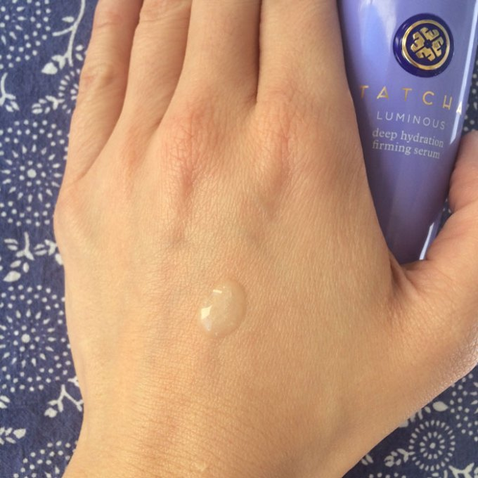 tatcha luminous deep hydration firming serum