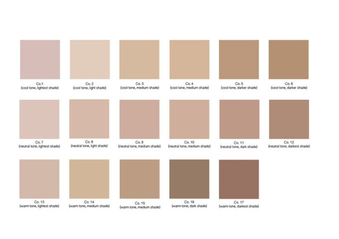 araza natural beauty foundation color guidearaza natural beauty foundation color guide
