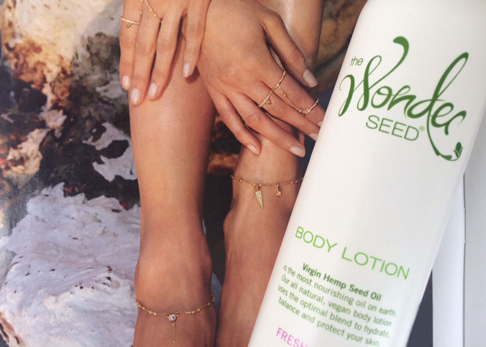 the wonder seed fresh jasmine body lotion