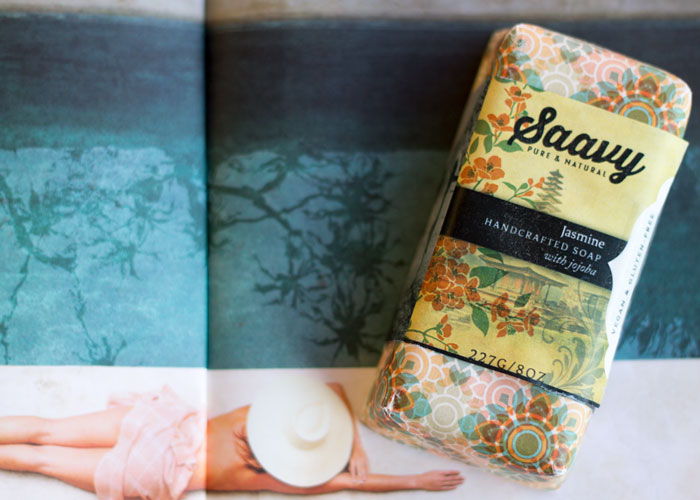saavy naturals jasmine bar soap