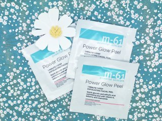 m-61 powerful skincare power glow peel