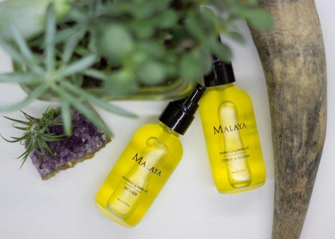 malaya organics body oil