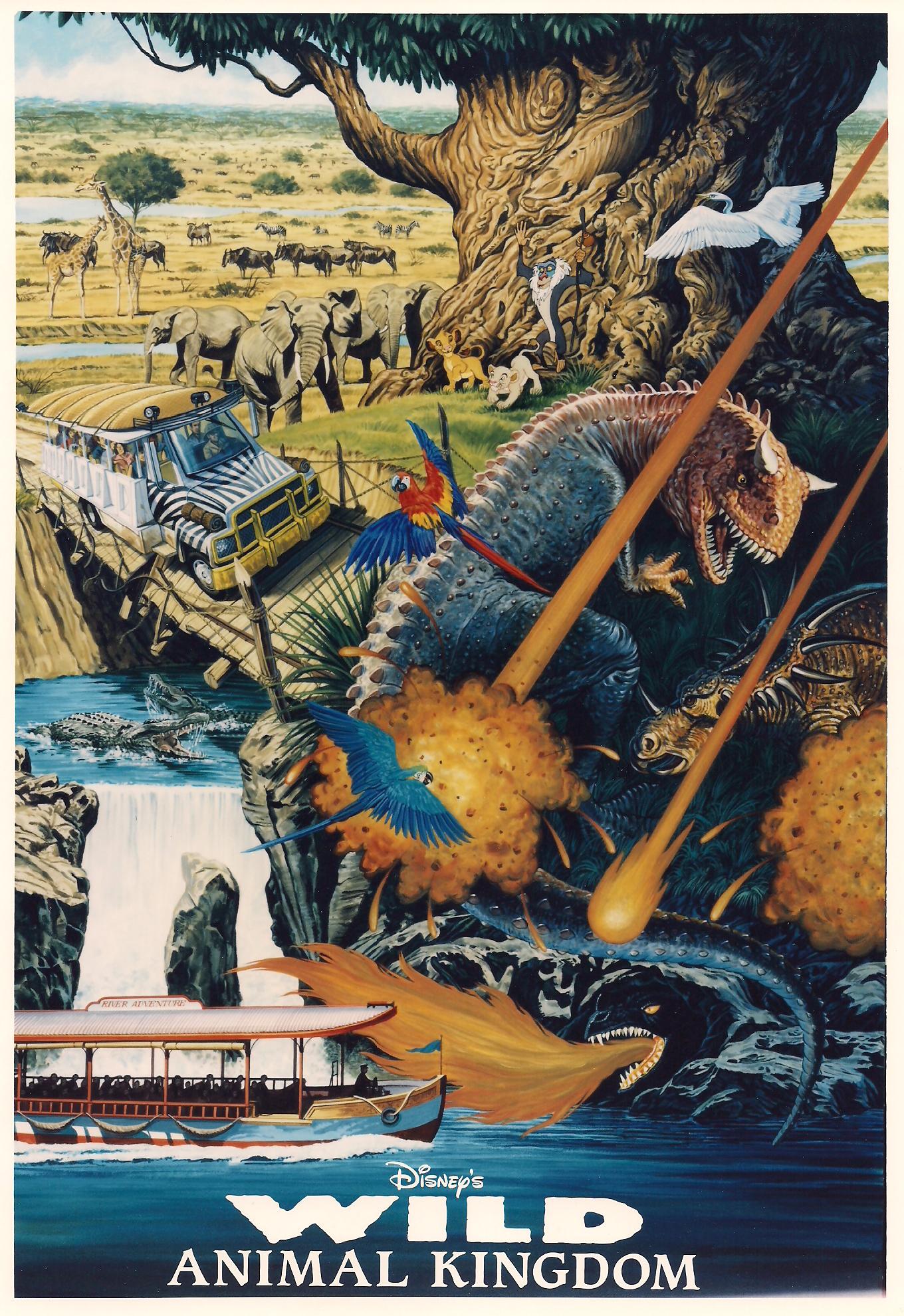 Wild Animal Kingdom: 1995 Animal Kingdom Press Packet