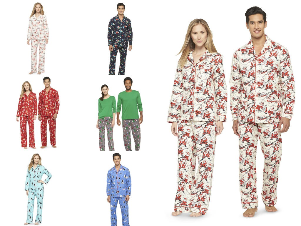 Matching Holiday Pajamas For Any Budget