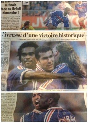 France 98 World Cup Victory - World Cup Fever - kimberlymitchell.us