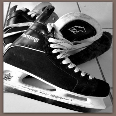 Kimberly's Hockey Skates - The Mighty Ducks and Jones Center Hockey - kimberlymitchell.us