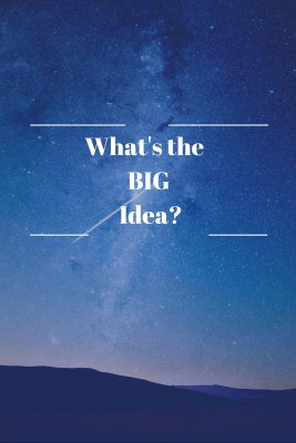 What's the Big Idea - Kimberlymitchell.us