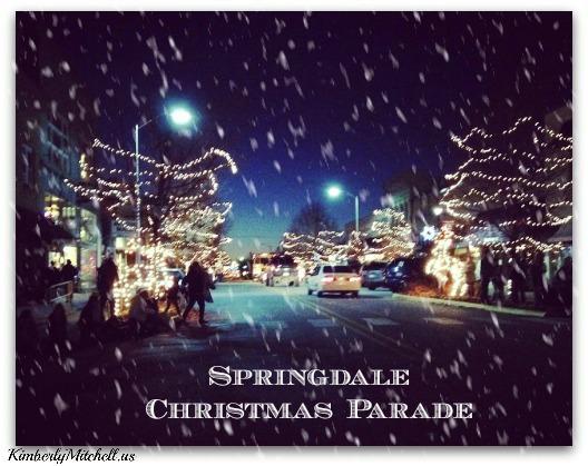 Springdale Christmas Parade - kimberlymitchell.us