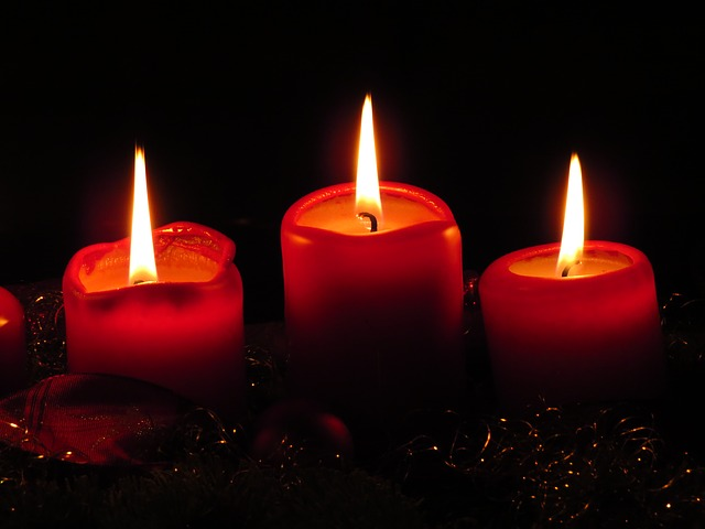 advent candles - A Season of Hope - kimberlymitchell.us