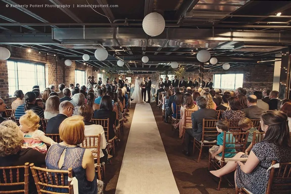 Wedding at Dock 580  Downtown Columbus Ohio Wedding  Kimberly Potterf Photography